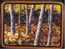 Mike Buesseler Autumn Birches 1995